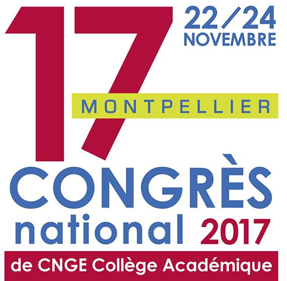 Congrès CNGE - Montpellier 2017